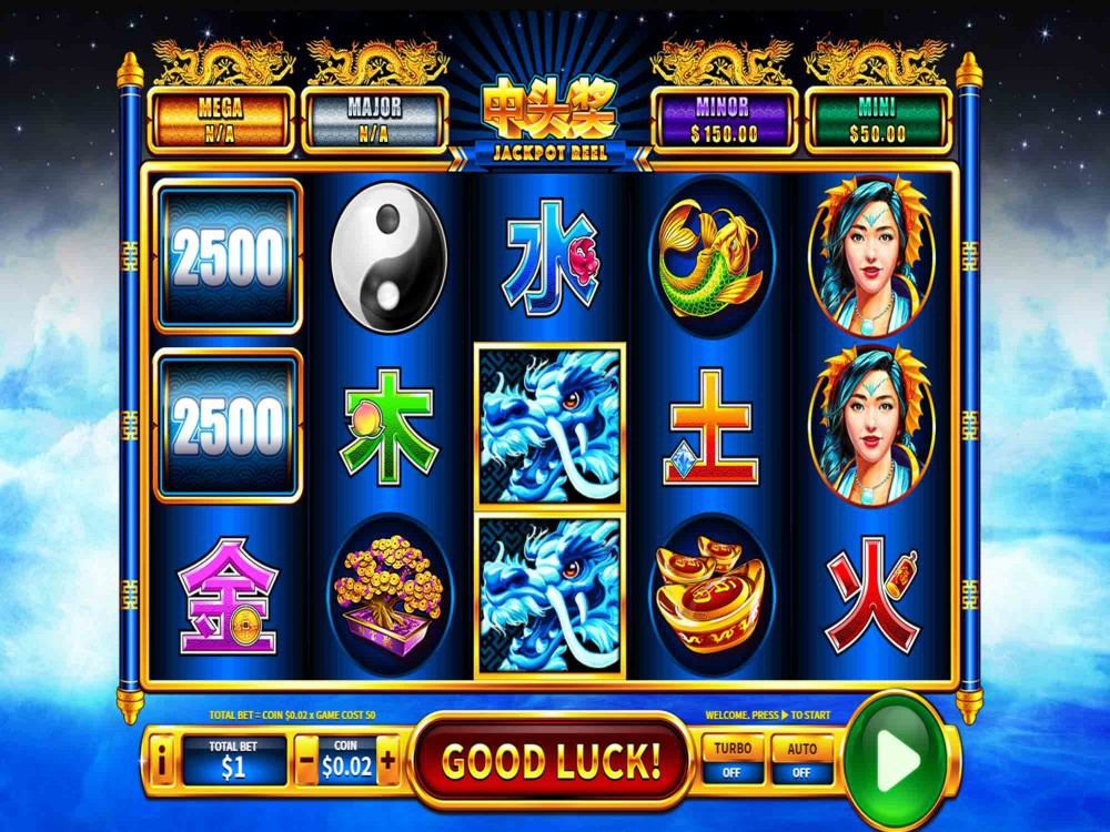 Slot machine quiz: Wild Water